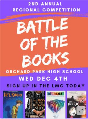 Battle of the Books Poster
