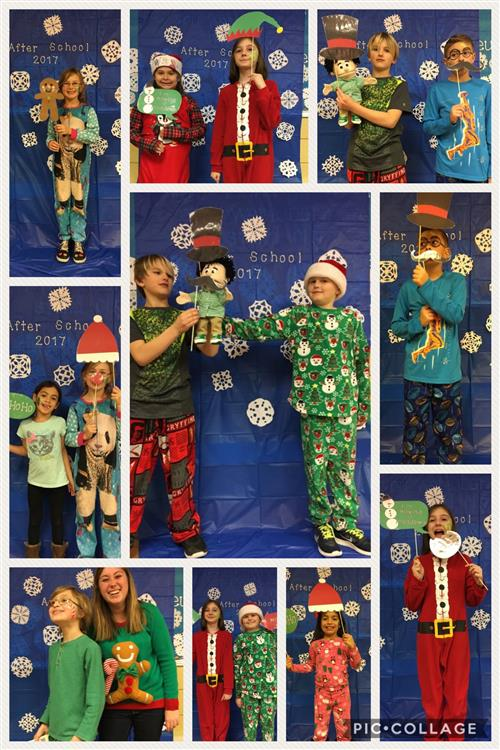 West Elementary Christmas Photobooth
