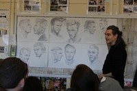 Philip Burke taks about his drawing process he uses before painting.