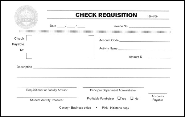Check Requisition