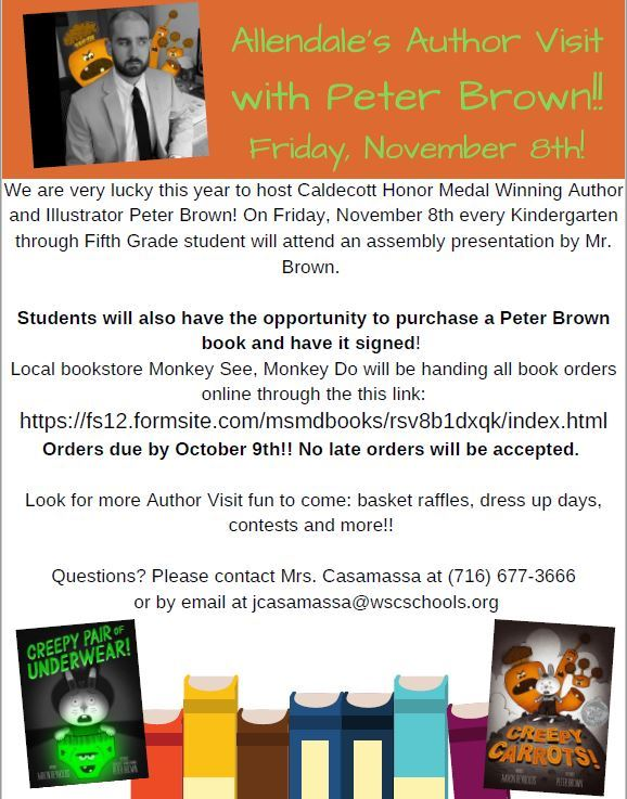 Author Visit-Peter Brown