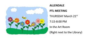 MARCH PTL MEETING