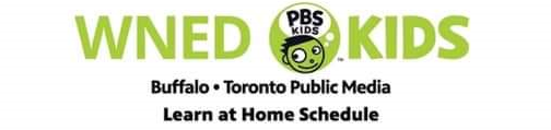 WNED Kids Learn At Home Schedule