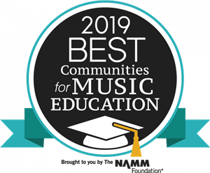 West Seneca Selected as a Best Community for Music Education 2019!