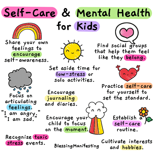 self care kids