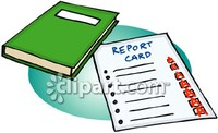 Book and report card