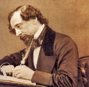 Charles Dickens witing