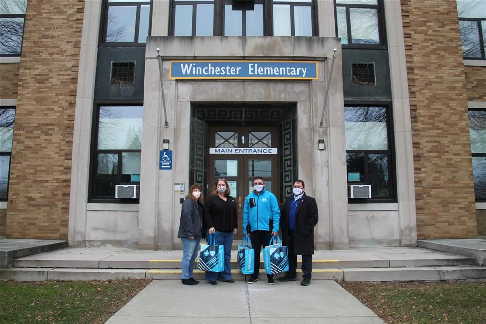 Winchester receives PPE