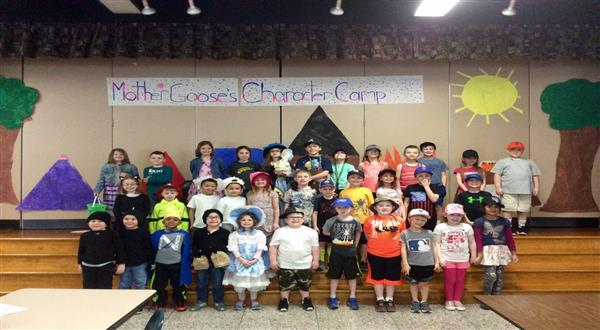 "Colleen Girdlestone and Julie Leffler's classes at Northwood Elementary performed ""Mother Goose's C"
