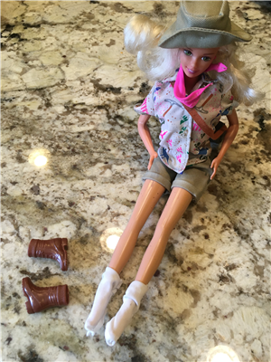 Barbie's boots