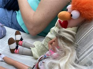 Beaker and Barbie